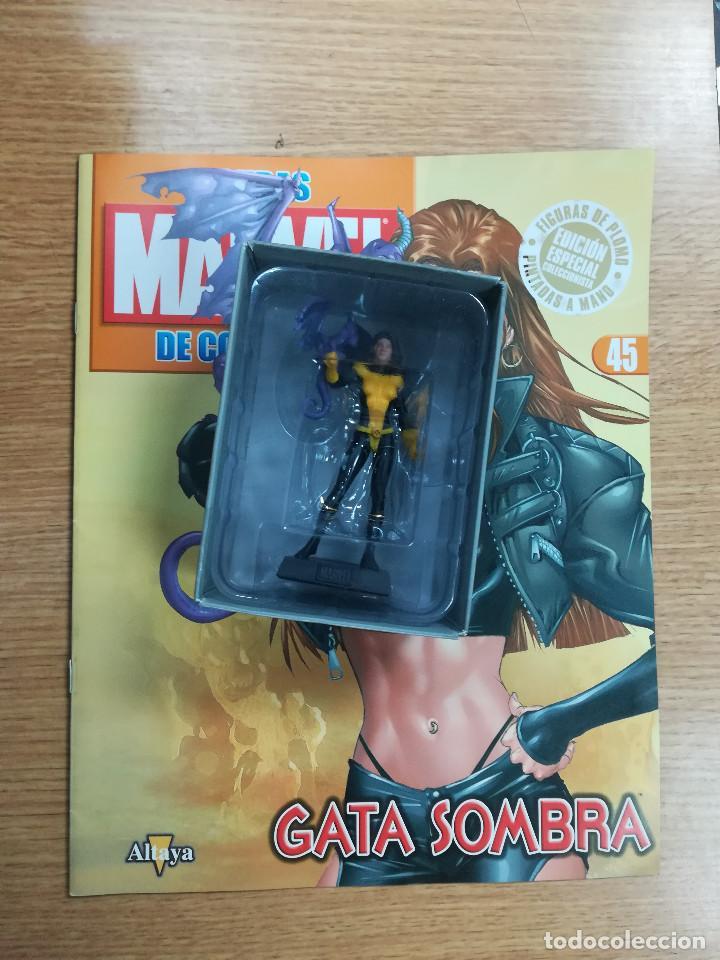 FIGURAS MARVEL DE COLECCION #45 GATA SOMBRA (Tebeos y Comics - Comics Merchandising)