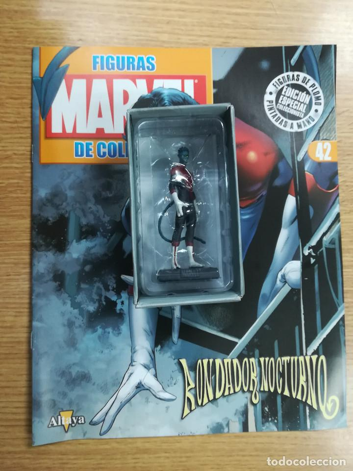 FIGURAS MARVEL DE COLECCION #42 RONDADOR NOCTURNO (Tebeos y Comics - Comics Merchandising)