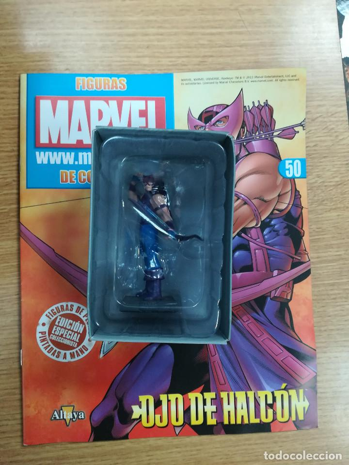 FIGURAS MARVEL DE COLECCION #50 OJO DE HALCON (Tebeos y Comics - Comics Merchandising)