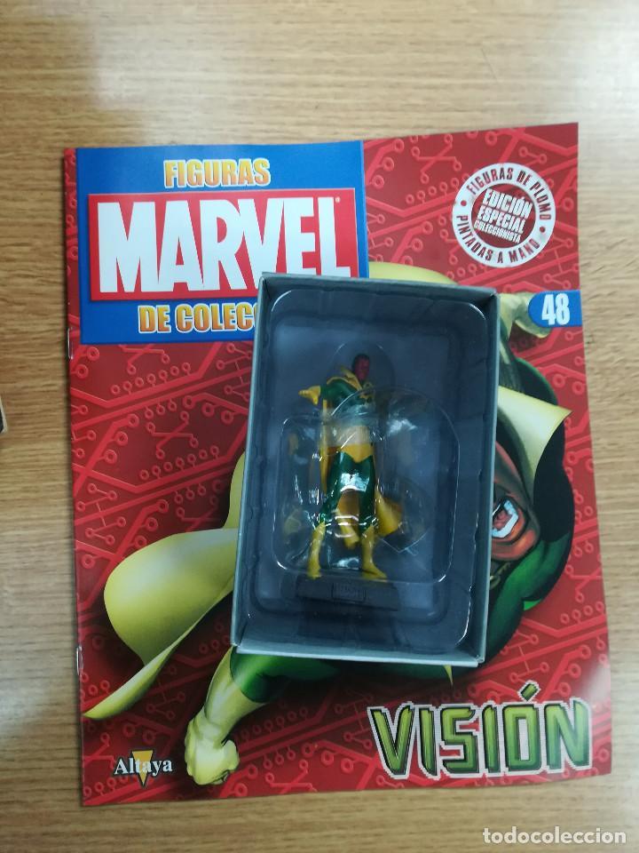 FIGURAS MARVEL DE COLECCION #48 VISION (Tebeos y Comics - Comics Merchandising)