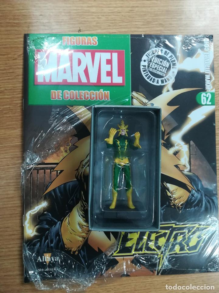 FIGURAS MARVEL DE COLECCION #62 ELECTRO (Tebeos y Comics - Comics Merchandising)