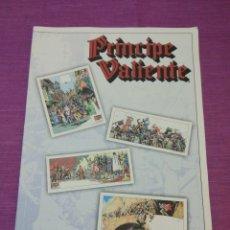 Cómics: PRINCIPE VALIENTE, COLECCIÓN DE 4 LÁMINAS (REPRODUCCIÓN VIÑETAS HISTÓRICAS). Lote 137761000