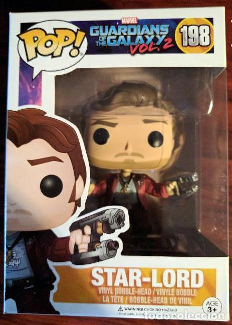 Cómics: Funko Pop! Star-Lord Guardianes de la Galaxia vol. 2 MARVEL 198 STAR LORD - Foto 1 - 138072042