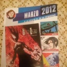 Cómics: CATALOGO NORMA EDITORIAL - MARZO 2012 --REFM3E3. Lote 138967742
