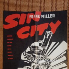 Cómics: POSTER - SIN CITY - THE BIG FAT KILL - FRANK MILLER - DE 1994 - PROMOCIONAL - 56 X 86 CM. Lote 139718077