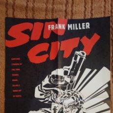 Cómics: POSTER - SIN CITY - THE BIG FAT KILL - FRANK MILLER - DE 1994 - PROMOCIONAL - 56 X 86 CM. Lote 139718077
