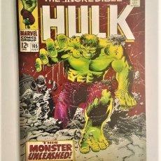 Cómics: DE HULK MARVEL COMICS - CUADRO EN ACRILICO - PRIMERA EDICIÓN. Lote 139739462