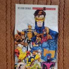 Cómics: POSTER - X-MEN - MUTANT GENESIS - 34 X 96 CM - DE 1991 - JIM LEE, ALAN DAVIS, ROB LIEFELD.... Lote 139822789