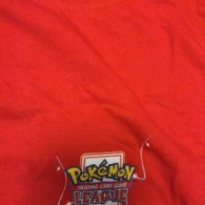 Cómics: CAMISETA POKEMON TALLA XL CAMPEONATO OFICIAL TRADING CARD LEAGUE. Lote 142623650
