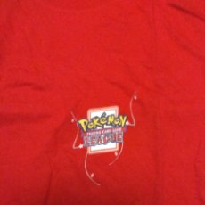 Cómics: CAMISETA POKÉMON NUEVA TALLA XL 70 CM LARGO CAMPEONATO OFICIAL TRADING CARD GAME LEAGUE. Lote 142624222