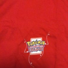 Cómics: CAMISETA NUEVA POKEMON TALLA XL 70 CM LARGO CAMPEONATO OFICIAL TRADING CARD GAME LEAGUE. Lote 142624566