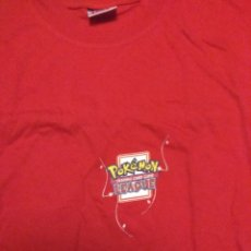 Cómics: CAMISETA NUEVA POKEMON TALLA XL CAMPEONATO OFICIAL TRADING CARD GAME LEAGUE. Lote 142624732