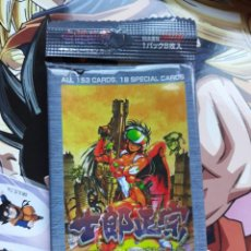 Cómics: SHIROW MASAMUNE ILLUSTRATION CARDS EMPTY BLISTER . Lote 144808894