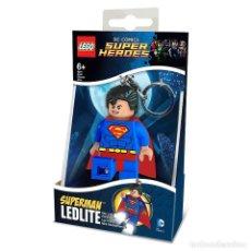 Cómics: SUPERMAN LLAVERO LINTERNA ORIGINAL LEGO. Lote 146037318