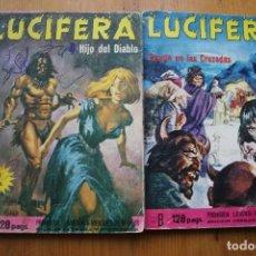 Cómics: 2 COMIC LUCIFERA. Lote 146511226