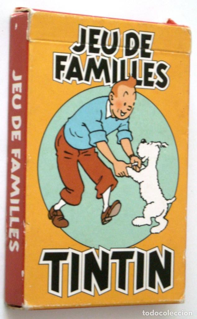 TINTIN - CARTAS JUEGO DE FAMILIAS - EN FRANCES (Tebeos y Comics - Comics Merchandising)
