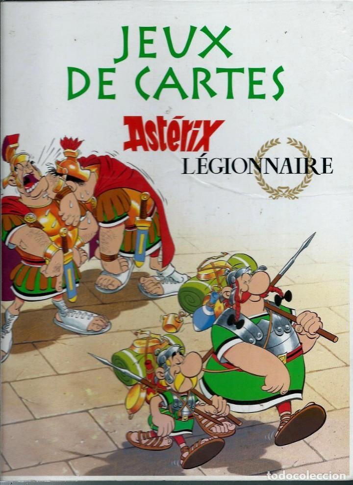JEUX DE CARTES ASTERIX LEGIONNAIRE - EDITIONS ALBERT RENE 2012, JUEGO DE CARTAS EN FRANCES (Tebeos y Comics - Comics Merchandising)
