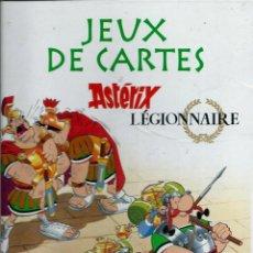 Cómics: JEUX DE CARTES ASTERIX LEGIONNAIRE - EDITIONS ALBERT RENE 2012, JUEGO DE CARTAS EN FRANCES. Lote 147736714