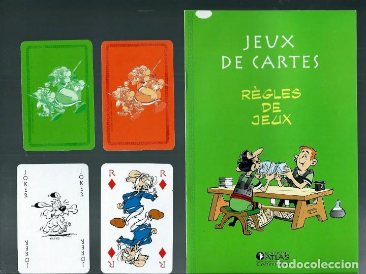 Cómics: JEUX DE CARTES ASTERIX LEGIONNAIRE - EDITIONS ALBERT RENE 2012, JUEGO DE CARTAS EN FRANCES - Foto 2 - 147736714