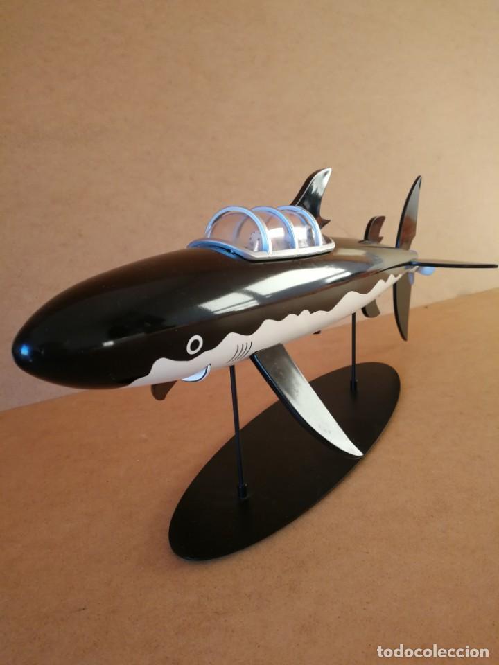 Comics: Figura Moulinsart Tintin tiburon submarino - Foto 2 - 149982900