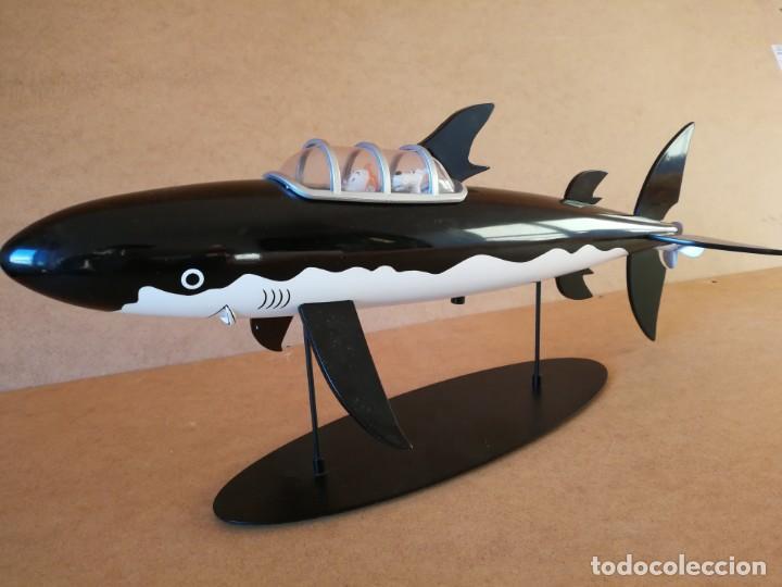 Comics: Figura Moulinsart Tintin tiburon submarino - Foto 4 - 149982900