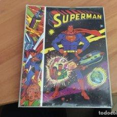 Cómics: SUPERMAN. EL ORIGEN DE SUPERMAN. CARPETA ARCHIVADOR DE ANILLAS AÑO 1977. GRAFICAS ORION (COIB195). Lote 149645562