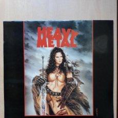 Cómics: HEAVY METAL CALENDAR 1998- LAMINAS DIBUJOS LUIS ROYO- CALENDARIO DE PARED. Lote 150529702