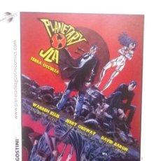 Cómics: POSTAL PLANETA D'AGOSTINI COMICS PLANETARY JLA TERRA OCCULTA BATMAN SUPERMAN WONDER WOMAN. Lote 150535314