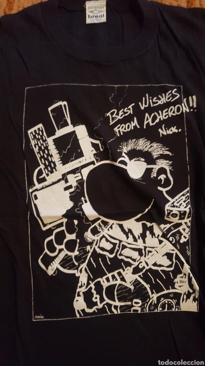Cómics: Camiseta - Cels Piñol - Nick Furia - Kiusap - Fanhunter - Fan Letal - Foto 2 - 151022249