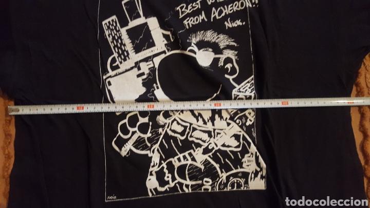 Cómics: Camiseta - Cels Piñol - Nick Furia - Kiusap - Fanhunter - Fan Letal - Foto 4 - 151022249