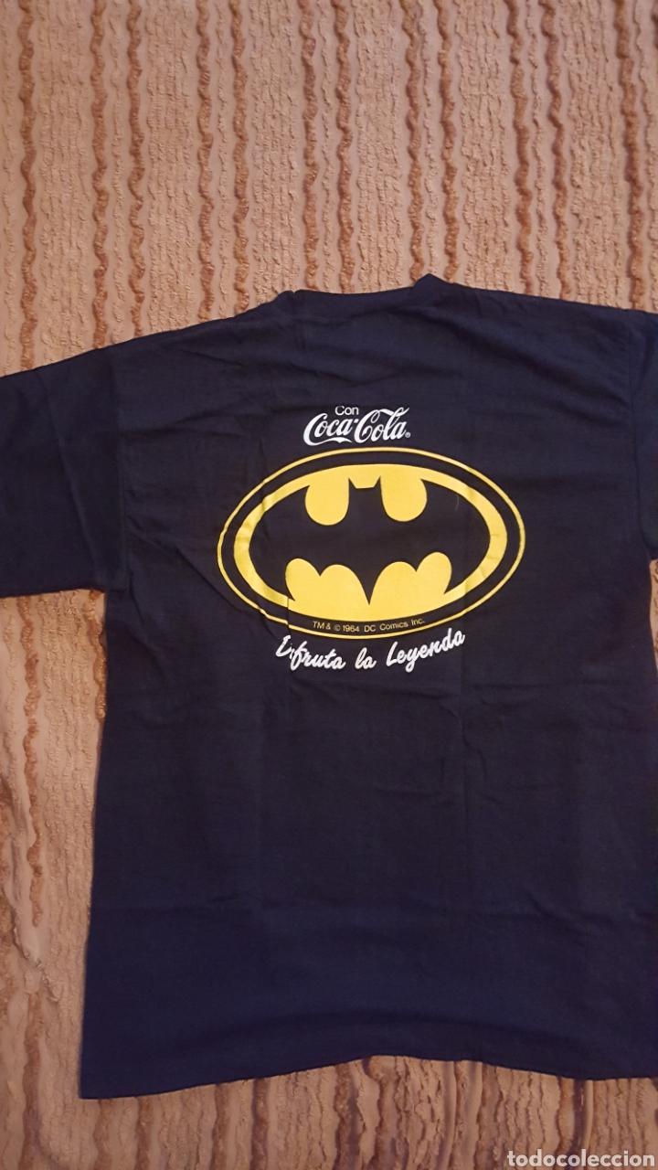 Cómics: Camiseta - Batman - Promocional de Coca-Cola - Talla XL - Foto 4 - 151085349