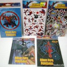 Cómics: SPIDERMAN - PEGATINAS 5 ENTREGAS. Lote 153585174