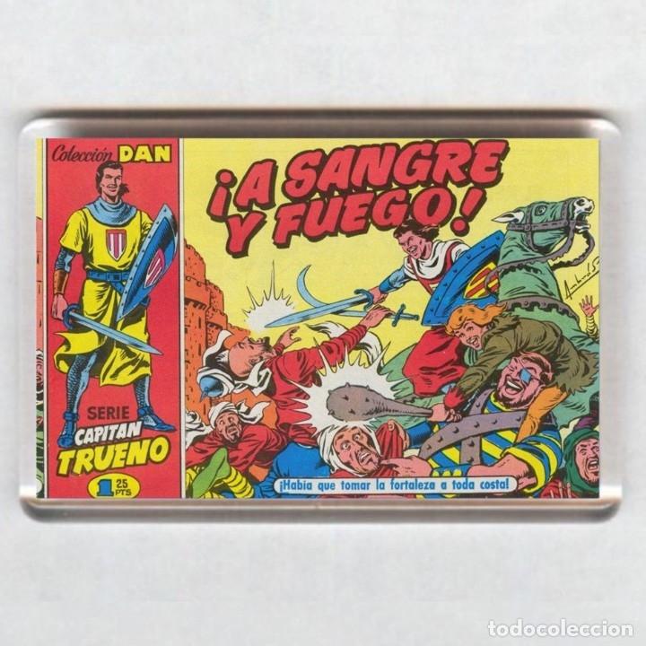 IMAN ACRÍLICO NEVERA - CAPITAN TRUENO (Tebeos y Comics - Comics Merchandising)