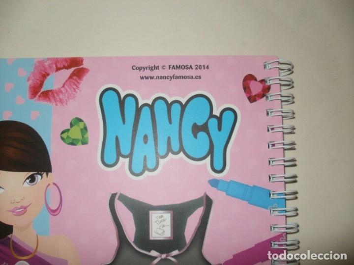 Cómics: NANCY ¡CREA TUS CAMISETAS! LIBRO CREATIVO FAMOSA 2014 LIBRO DIVO DESCATALOGADO - Foto 3 - 158061534
