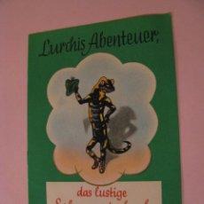 Cómics: LURCHIS ABENTEUER. DAS LUSTIGE SALAMANDERBUCH. 6. TEIL. AÑOS 50. ALEMANIA. DEUTSCHLAND.. Lote 161727170