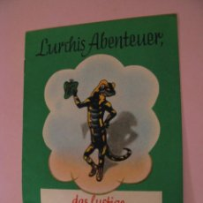 Cómics: LURCHIS ABENTEUER. DAS LUSTIGE SALAMANDERBUCH. 6. TEIL. AÑOS 50. ALEMANIA. DEUTSCHLAND.. Lote 161727186