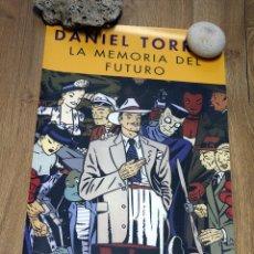 Cómics: DANIEL TORRES. 36 X 64 CM.. Lote 162325038