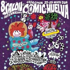 Cómics: NICOLÁS. SALÓN DEL COMIC. 2014. 68 X 49 CM.. Lote 162325186