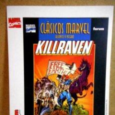 Cómics: POSTAL CLÁSICOS MARVEL KILLRAVEN ( FORUM ). Lote 177190609