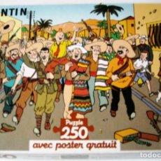 Cómics: HERGE - PUZZLE LA OREJA ROTA - 250 PIEZAS. Lote 165151514