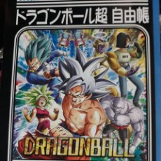 Cómics: DRAGON BALL SUPER LIBRETA NOTE BOOK MADE IN JAPAN WITH STICKERS. Lote 221832706
