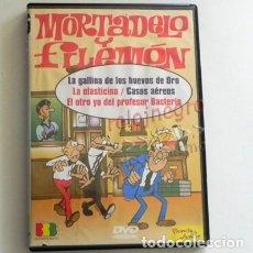 Cómics: MORTADELO Y FILEMÓN DVD DIBUJOS ANIMADOS BASADO EN CÓMIC DE IBÁÑEZ HUMOR LA ELASTICINA CASOS AÉREOS. Lote 166229426
