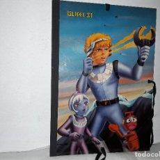 Cómics: ULISES 31 - CARPETA DE DIBUJO ( 42 X 29,5 ) TAMAÑO A3 - CARTON DURO AÑOS 80. Lote 175710460