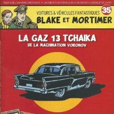 Cómics: BLAKE Y MORTIMER - FASCICULO + COCHE - LA MAQUINACION VORONOV. Lote 166842322