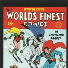 Comics - postal portada DC COMICS CLASICOS- Nº 4 world´s finest - 168384644