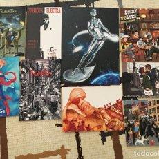 Cómics: LOTE DE 9 POSTALES DE UNA TIENDA ESPECIALIZADA DE COMICS.. Lote 168622908