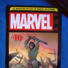 Cómics: MARVEL AGE Nº 40 MARVEL PANINI COMICS. Lote 171592815