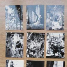 Cómics: TRADING CARD DE BERNIE WRIGHTSON. FRANKESTEIN. COLECCIÓN INCOMPLETA (25 CARDS). Lote 173418757