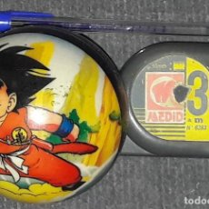 Cómics: RARO PELOTA MINI DRAGON BALL GOKU Y KRILIN BOLA DE DRAC. Lote 173965143