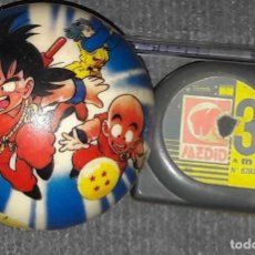 Cómics: RARO PELOTA MINI DRAGON BALL GOKU Y KRILIN BOLA DE DRAC. Lote 173965222